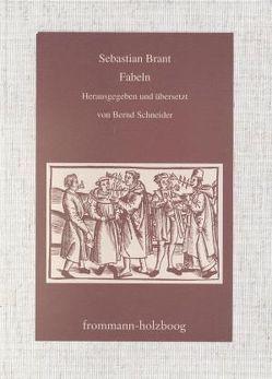 Fabeln von Brant,  Sebastian, Schneider,  Bernd
