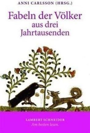 Fabeln der Völker aus drei Jahrtausenden von Bohnen,  Klaus, Carlsson,  Anni