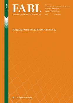 FABL Fremden- und Asylrechtliche Blätter von Brandl,  Ulrike, Feik,  Rudolf, Gruber,  Gunther, Maier,  Gernot