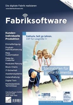 Fabriksoftware 3/2018 von Scholz-Reiter,  Bernd