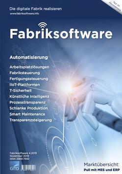 Fabriksoftware 4/2019 E-Journal von Gronau,  Norbert