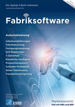 Fabriksoftware 4/2019 von Gronau,  Norbert