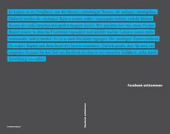 Facebook entkommen von Brekke,  Jaya Klara, Cabello,  Florencio, Dremljuga,  Ramona-Riin, Joler,  Vladan, Milan,  Stefania, Minichbauer,  Raimund