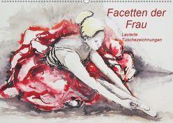 Facetten der Frau – Lavierte Tuschezeichnungen (Wandkalender 2019 DIN A2 quer) von Harmgart,  Sigrid