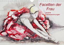 Facetten der Frau – Lavierte Tuschezeichnungen (Wandkalender 2020 DIN A4 quer) von Harmgart,  Sigrid