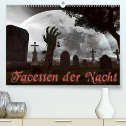 Facetten der NachtCH-Version (Premium, hochwertiger DIN A2 Wandkalender 2021, Kunstdruck in Hochglanz) von Schröder,  Karsten