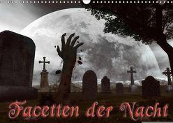 Facetten der NachtCH-Version (Wandkalender 2018 DIN A3 quer) von Schröder,  Karsten