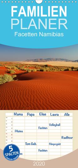 Facetten Namibias – Familienplaner hoch (Wandkalender 2020 , 21 cm x 45 cm, hoch) von Woehlke,  Juergen