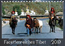 Facettenreiches Tibet (Tischkalender 2019 DIN A5 quer) von Bergermann,  Manfred