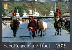 Facettenreiches Tibet (Wandkalender 2020 DIN A2 quer) von Bergermann,  Manfred