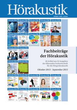 Fachbeiträge der Hörakustik Oktober 2013 – September 2015