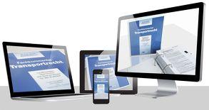 Fachkommentar Transportrecht online von Thonfeld,  Horst D