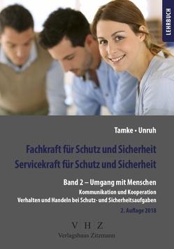 Fachkraft für Schutz und Sicherheit, Servicekraft für Schutz und Sicherheit Band 2 von Tamke,  Pierre, Unruh,  Frank