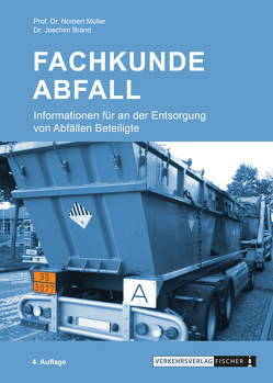 Fachkunde Abfall von Brand,  Dr. Joachim, Müller,  Prof. Dr. Norbert