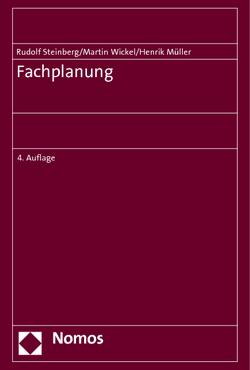 Fachplanung von Müller,  Henrik, Steinberg,  Rudolf, Wickel,  Martin