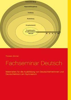 Fachseminar Deutsch von Zimmer,  Thorsten
