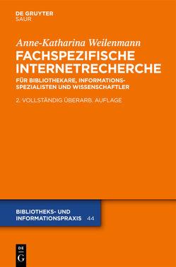 Fachspezifische Internetrecherche von Weilenmann,  Anne-Katharina