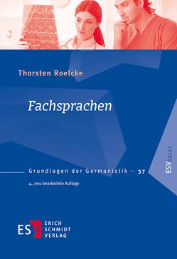 Fachsprachen von Roelcke,  Thorsten