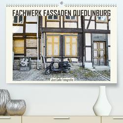 FACHWERK FASSADEN QUEDLINBURG (Premium, hochwertiger DIN A2 Wandkalender 2020, Kunstdruck in Hochglanz) von Galle,  Jost