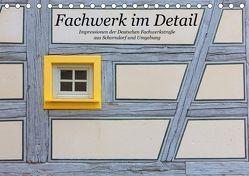Fachwerk im Detail (Tischkalender 2018 DIN A5 quer) von Eisold,  Hanns-Peter
