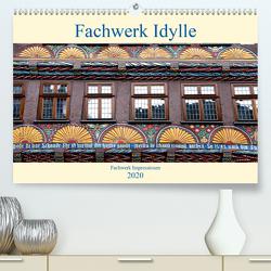 Fachwerk Impressionen (Premium, hochwertiger DIN A2 Wandkalender 2020, Kunstdruck in Hochglanz) von Schmidt,  Bodo