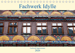 Fachwerk Impressionen (Tischkalender 2020 DIN A5 quer) von Schmidt,  Bodo