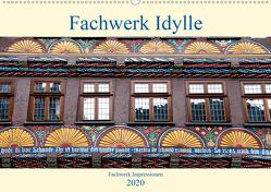 Fachwerk Impressionen (Wandkalender 2020 DIN A2 quer) von Schmidt,  Bodo