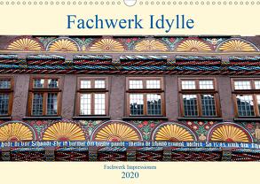 Fachwerk Impressionen (Wandkalender 2020 DIN A3 quer) von Schmidt,  Bodo