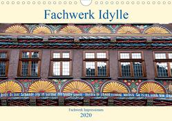 Fachwerk Impressionen (Wandkalender 2020 DIN A4 quer) von Schmidt,  Bodo