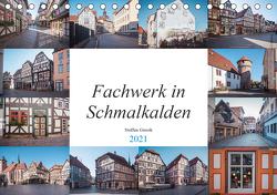 Fachwerk in Schmalkalden (Tischkalender 2021 DIN A5 quer) von N.,  N.