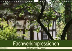 Fachwerkimpressionen (Wandkalender 2019 DIN A4 quer) von Meister,  Andrea
