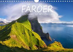 Färöer – Archipel im Nordmeer (Wandkalender 2019 DIN A4 quer) von L. Beyer,  Stefan