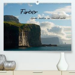 Färöer (Premium, hochwertiger DIN A2 Wandkalender 2021, Kunstdruck in Hochglanz) von Scholz,  Frauke