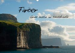 Färöer (Wandkalender 2021 DIN A2 quer) von Scholz,  Frauke