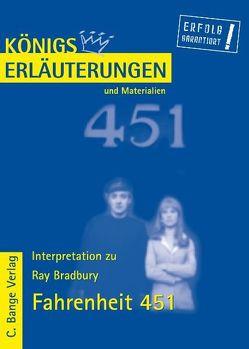 Fahrenheit 451 von Ray Bradbury. von Bradbury,  Ray, Kohn,  Martin