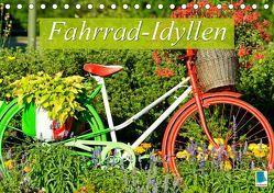 Fahrrad-Idyllen (Tischkalender 2019 DIN A5 quer) von CALVENDO