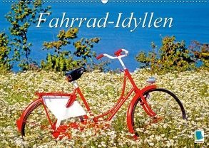 Fahrrad-Idyllen (Wandkalender 2018 DIN A2 quer) von CALVENDO