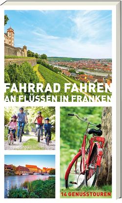 Fahrradfahren an Flüssen in Franken