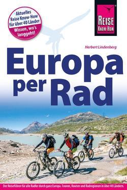 Fahrradführer Europa per Rad von Lindenberg,  Herbert