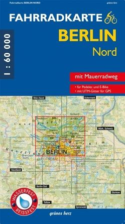 Fahrradkarte Berlin Nord