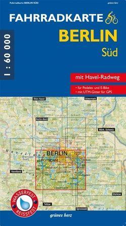 Fahrradkarte Berlin Süd