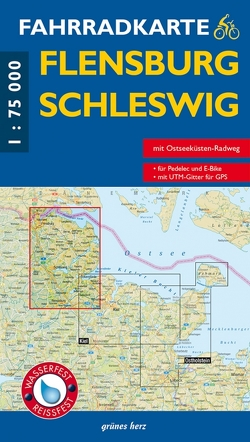 Fahrradkarte Flensburg, Schleswig
