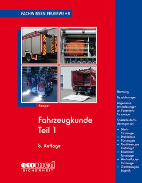 Fahrzeugkunde Teil 1 von Kemper,  Hans