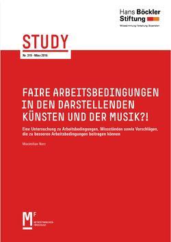 Faire Arbeitsbedingungen in den darstellenden Künsten und der Musik von Norz,  Maximilian