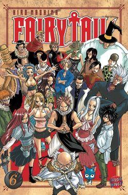 Fairy Tail 6 von Küstner,  Karsten, Mashima,  Hiro