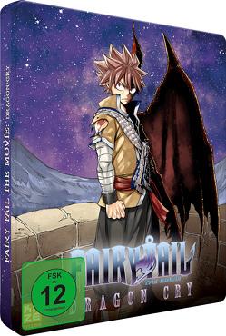 Fairy Tail: Dragon Cry (Movie 2) – Blu-Ray – Limited Steelcase Edition mit Plüschtier Plue von Ishihira,  Shinji
