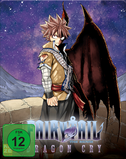 Fairy Tail: Dragon Cry (Movie 2) – DVD – Limited Steelcase Edition mit Plüschtier Plue von Ishihira,  Shinji