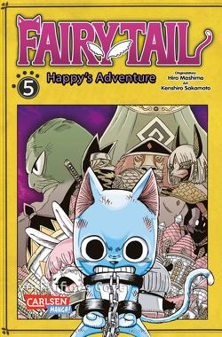 Fairy Tail – Happy's Adventure 5 von Christiansen,  Lasse Christian, Mashima,  Hiro, Sakamoto,  Kenshiro