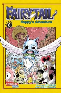 Fairy Tail – Happy's Adventure 6 von Christiansen,  Lasse Christian, Mashima,  Hiro, Sakamoto,  Kenshiro