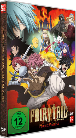 Fairy Tail: Phoenix Priestess (Movie 1) – DVD von Ishihira,  Shinji